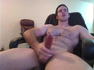 hot guy spunking and groaning