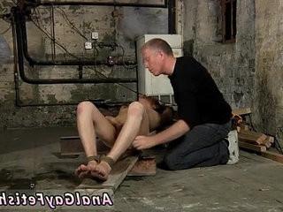 Foot fetish gay boy restrain bondage British twink Chad Chambers is his latest
