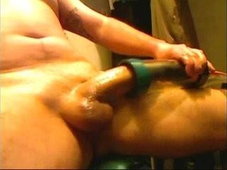 dick milking deepmouth machine. amazing