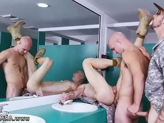 Jerk off military and daddies sucking army guys dick gay porno Good