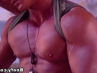muscled Fuck of Two Hot and Muscular Military
