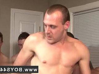 Naked studs Devon Takes On Ten