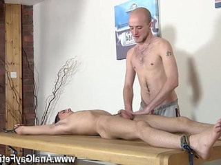 suspended forearmsome twinks self movies Dom guy Kieron Knight has a