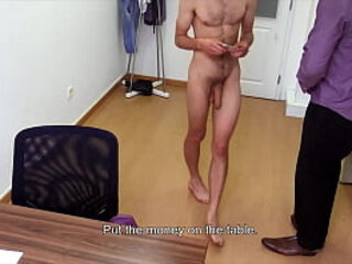 Straight Dude With Monster Cock Takes Cock In His Ass And Cums - DIRTY SCOUT 241