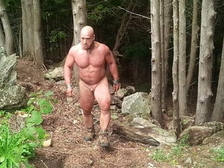 Muscle slave Clearing Away Rocks