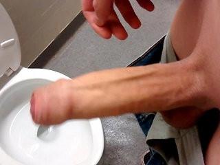 Foreskin in Public Washroom