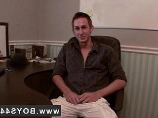 Hot gay Jamie Gets Brutally nudebacked
