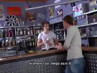 Sexy Barman