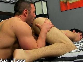 Naked mans He getranssexual on his knees and deep throatranssexual Brocks meatpipe