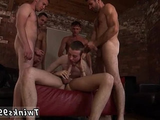 Gay video Poor James Takes An Onslaught Of dick!