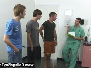 Gay hook-up Today a group of men stop by the clinic wanting to collect