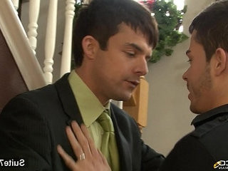 nasty married masculine gives head to a homosexual