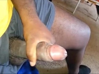 daddy play his meat